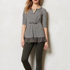 Anthropologie One September Galicia Top